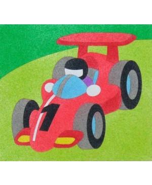 Eskizas smėlio tapybai Formulė 20x18cm