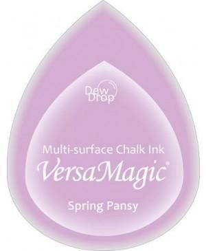Rašalo pagalvėlė VersaMagic Dew Drop Spring Pansy šviesiai violetinė