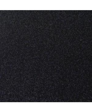 Popierius dekoratyvinis su blizgučiais A4, juoda (53)