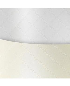 Popierius Chic White, A4, 220 g/m², baltas žvilgus reljefinis, 1 vnt.