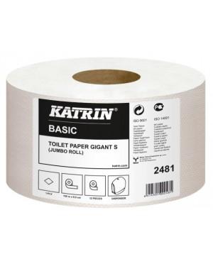 Tualetinis popierius Katrin Basic Gigant Toilet S 150, vieno sluoksnio