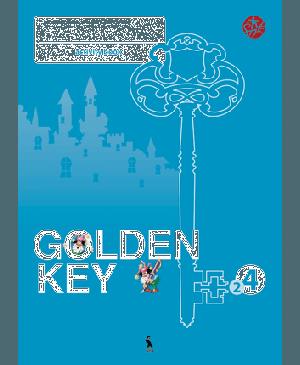 """Golden Key 4. Activity Book. 2-asis anglų kalbos pratybų sąsiuvinis IV klasei. Tretieji mokymo metai ( """"Šok"""")"""