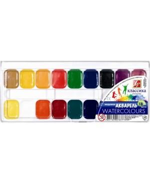 Akvarelė Luč Klasika 18 spalvų