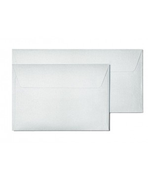 Vokas Pearl C6, 114x162 mm, 120 g/m2, sidabro sp. žvilgus,1 vnt.