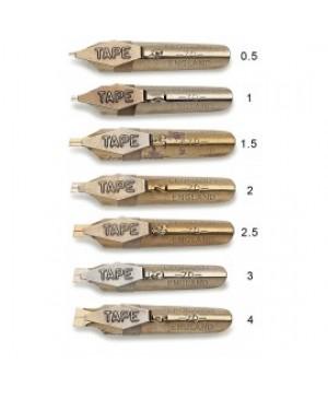 Plunksna kaligrafijai Manuscript 70/3 Ornamental, 1vnt.