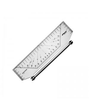 Slankiojanti liniuotė, 25cm