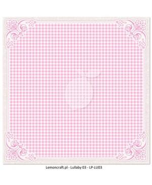 Skrebinimo popierius Lullaby - 03 , 30.5x30.5cm, 200 g/m², 1vnt.