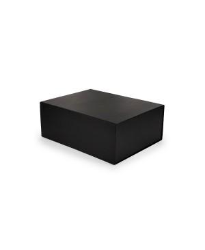 Kartoninė greito surinkimo dėžutė su magnetiniu užsegimu 330x220x100mm juodos spalvos