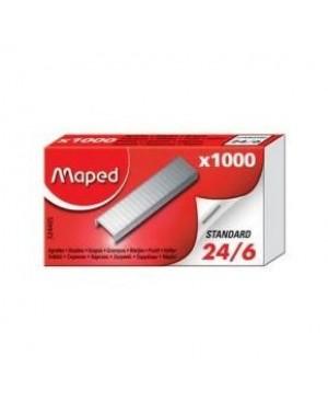 Sąsagėlės Maped 24/6, 1000 vnt, dėžutėje