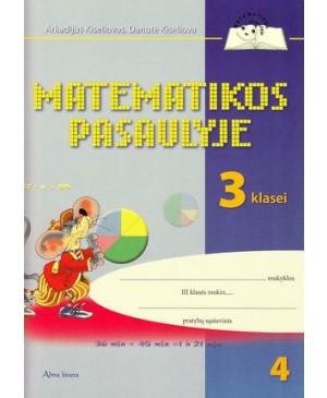 Matematikos pasaulyje III klasės pratybų sąs. Nr. 4