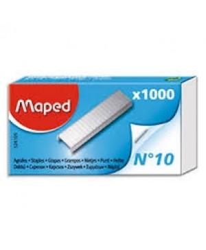 Sąsagėlės Maped N10, 1000vnt., dėžutėje