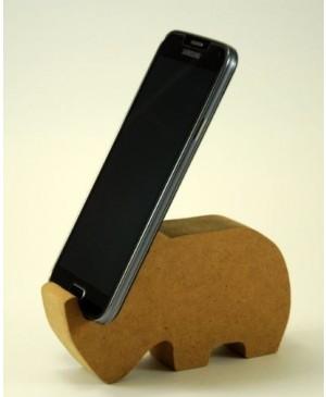 Stovelis telefonui MDF - Raganosis, 11,7 x 7,2 x 3 cm