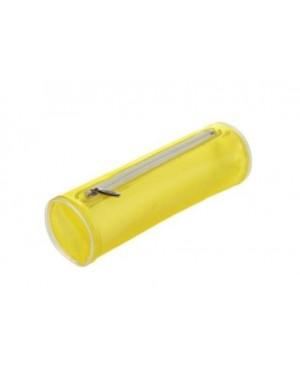 Penalas apvalus iš plastiko, geltonas