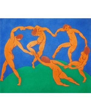 Eskizas smėlio tapybai 38x46cm, Šokis (II), Henri Matisse