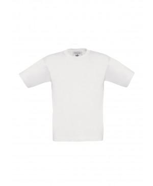 Vaikiški marškinėliai B&C 150, baltos spalvos