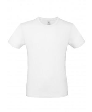 Vyriški marškinėliai B&C 150, baltos spalvos