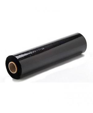 Tampri juoda techninė pakavimo plėvelė Strech 450 mm pločio, 17 mikronų storio, 270 m rulone