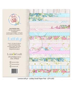 Skrebinimo popieriaus rinkinys Lullaby, 15.2x15.2cm, 36 lapai, 170 g/m²