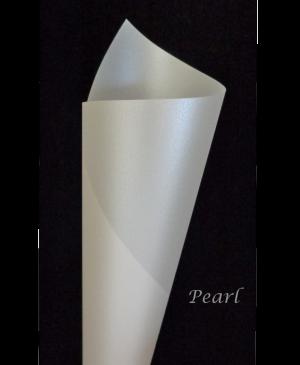 Spalvotas permatomas popierius Curious Translucent, Pearl, 100g., A4, 1 lapas