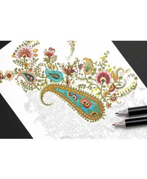 Knyga meniniam spalvinimui markeriais India