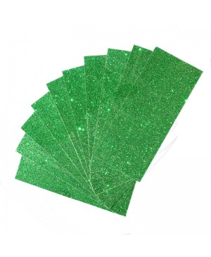 Popierius dekoratyvinis su blizgučiais A4, žalia (25)