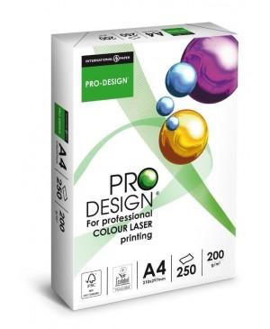 Biuro popierius Pro Design, A4, 200 g/m², 250 lapų