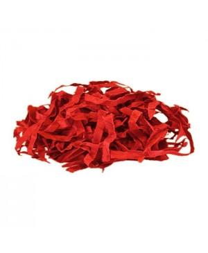 Popierinės drožlės raudonos sp. 100 g.