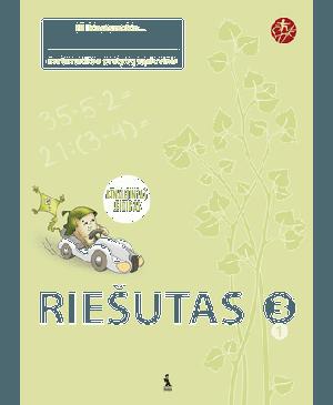 """Riešutas. 1-asis matematikos pratybų sąsiuvinis III klasei (""""Šok"""") (Atnaujintas leidimas)"""