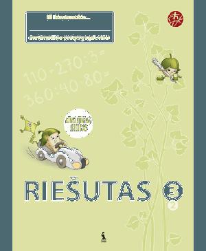"""Riešutas. 2-asis matematikos pratybų sąsiuvinis III klasei (""""Šok"""") (Atnaujintas leidimas)"""