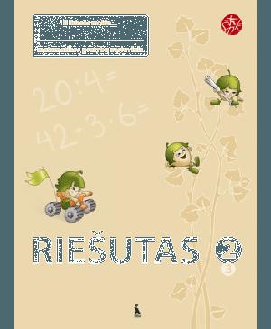 RIEŠUTAS. Pratybų sąsiuvinis II kl. 3-iasis (ŠOK) (Atnaujintas leidimas)