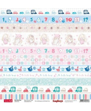 Skrebinimo popierius My Little Star - New Arrival 3 Tags, 30.5x30.5cm, 190 g/m², 1vnt.