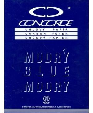 Kalkė Concorde A4, mėlyna, 50 lapų