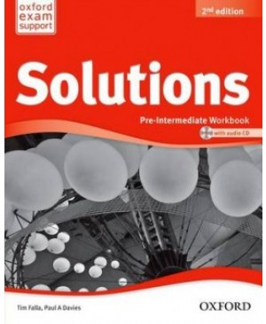 Solutions Pre-intermediate Workbook and Audio CD, 2nd edition