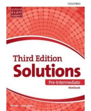 Solutions Pre-Intermediate Workbook, 3rd edition