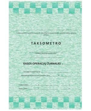 Taksometro kasos operacijų žurnalas A5 52 l.