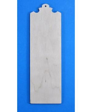 Skirtukas knygai medinis 16.5x5.2x0.3cm