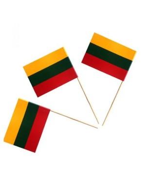 Lietuvos valstybinė vėliavėlė su mediniu koteliu