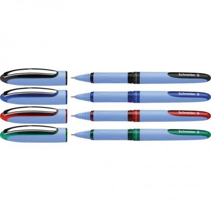 Rašiklis One Hybrid N, 0,3 mm, žalias