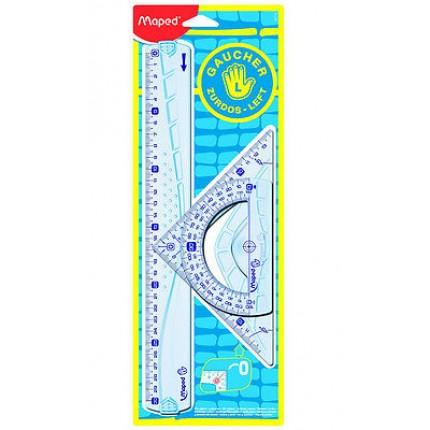 Liniuočių rinkinys Maped Geometric kairiarankiams
