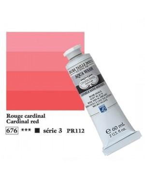 Spaudos dažai Charbonnel Aqua Wash 60ml Cardinal Red