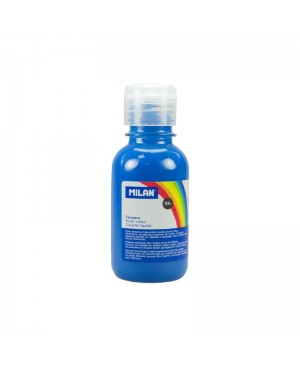Guašas Milan 125 ml.  mėlynos sp.