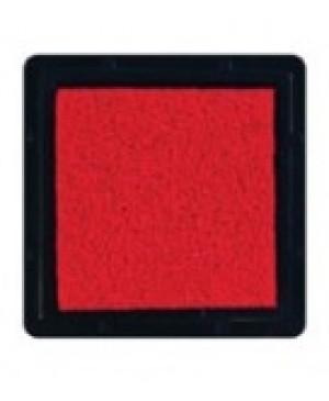 Rašalo pagalvėlė 3x3cm, 10 raudona