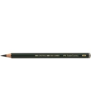 Grafitinis pieštukas Faber-Castell 9000 Jumbo 6B