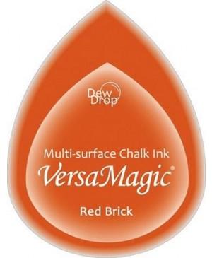 Rašalo pagalvėlė VersaMagic Dew Drop Red Brick raudona