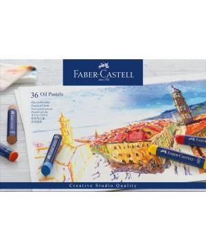 Pastelė aliejinė Faber-Castell, 36 spalvų