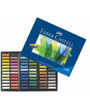 Pastelė Faber-Castell 72 spalvų, mažosios kreidelės