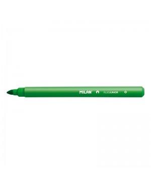Teksto žymeklis Milan Fluo Junior, kirstu galiuku, 1-4mm, žalios sp.