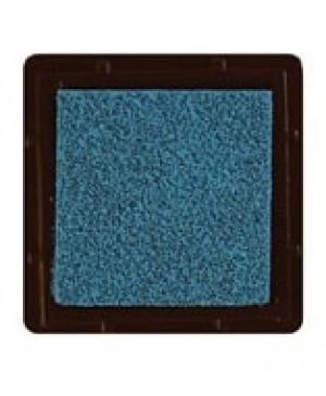 Rašalo pagalvėlė 3x3cm, 18 šv. melsvai žalsva / vandens