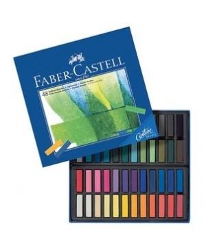 Pastelė Faber-Castell Creative Studio 48 spalvų, mažosios kreidelės