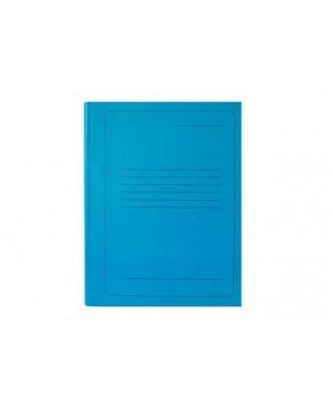 Segtuvėlis kartoninis A4 su įsegėle 300g, mėlynas